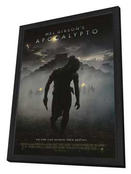 Apocalypto - 27 x 40 Movie Poster - Style A - in Deluxe Wood Frame