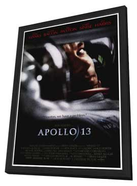 Apollo 13 - 27 x 40 Movie Poster - Style A - in Deluxe Wood Frame