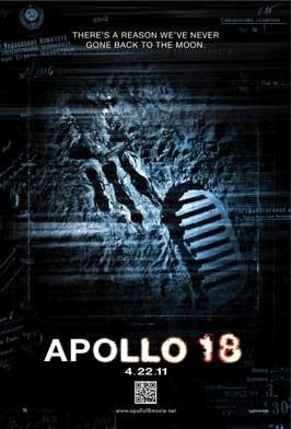 Apollo 18 - 11 x 17 Movie Poster - Style B