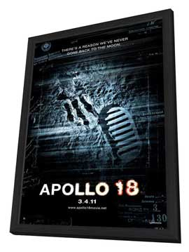Apollo 18 - 11 x 17 Movie Poster - Style A - in Deluxe Wood Frame
