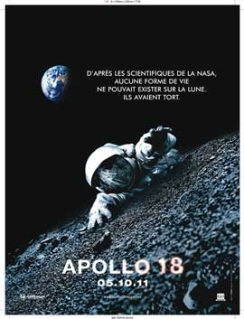 Apollo 18 - 43 x 62 Movie Poster - French Style A