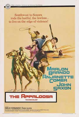The Appaloosa - 27 x 40 Movie Poster - Style C