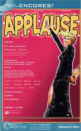 Applause (Broadway) - 27 x 40 Poster - Style A