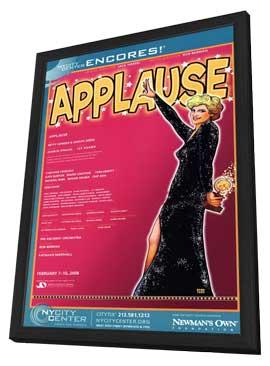 Applause (Broadway) - 11 x 17 Poster - Style A - in Deluxe Wood Frame