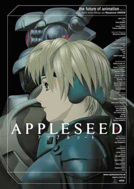 Appleseed - 11 x 17 Movie Poster - German Style A