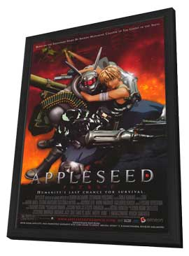 Appleseed - 27 x 40 Movie Poster - Style A - in Deluxe Wood Frame