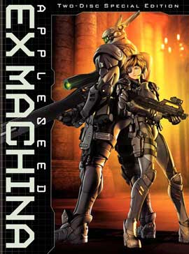 Appleseed Saga: Ex Machina - 27 x 40 Movie Poster - Style A