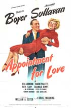 Appointment for Love - 11 x 17 Movie Poster - Style A