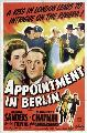 Appointment in Berlin - 11 x 17 Movie Poster - Style A
