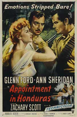 Appointment in Honduras - 27 x 40 Movie Poster - Style A