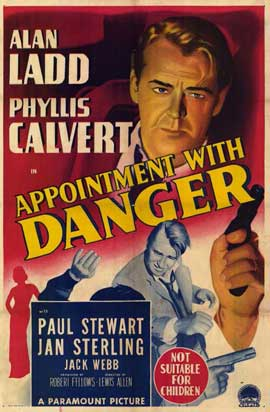 Appointment with Danger - 11 x 17 Movie Poster - Australian Style A