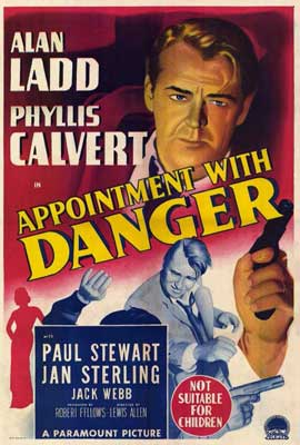 Appointment with Danger - 27 x 40 Movie Poster - Australian Style A