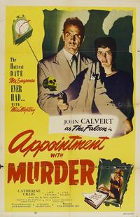 Appointment With Murder - 27 x 40 Movie Poster - Style A