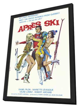 Apres Ski - 11 x 17 Movie Poster - Style A - in Deluxe Wood Frame