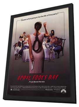 April Fool's Day - 11 x 17 Movie Poster - Style A - in Deluxe Wood Frame