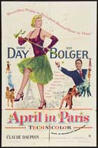 April in Paris - 27 x 40 Movie Poster - Style A
