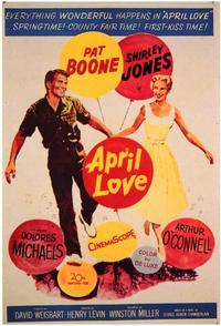 April Love - 43 x 62 Movie Poster - Bus Shelter Style A