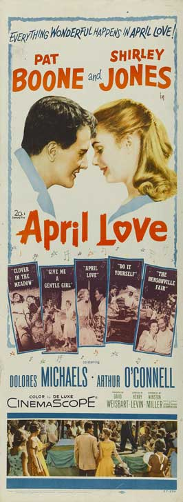 April Love - 14 x 36 Movie Poster - Insert Style A
