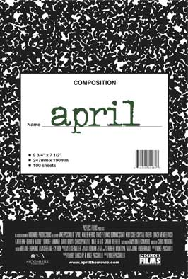 April - 11 x 17 Movie Poster - Style A