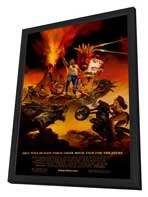 Aqua Teen Hunger Force Colon Movie Film for Theaters - 27 x 40 Movie Poster - Style A - in Deluxe Wood Frame