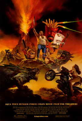 Aqua Teen Hunger Force Colon Movie Film for Theaters - 11 x 17 Movie Poster - Style A