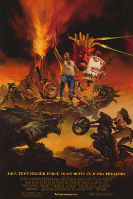 Aqua Teen Hunger Force Colon Movie Film for Theaters - 11 x 17 Movie Poster - Style B