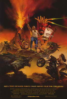 Aqua Teen Hunger Force Colon Movie Film for Theaters - 27 x 40 Movie Poster - Style B