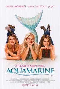 Aquamarine - 43 x 62 Movie Poster - Bus Shelter Style A