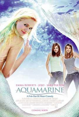 Aquamarine - 11 x 17 Movie Poster - Style F