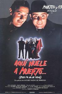 Aqui huele a muerto - 11 x 17 Movie Poster - Spanish Style A