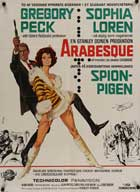 Arabesque - 11 x 17 Movie Poster - Danish Style A