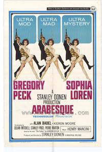 Arabesque - 27 x 40 Movie Poster - Style A