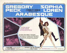 Arabesque - 22 x 28 Movie Poster - Half Sheet Style A