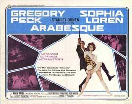 Arabesque - 22 x 28 Movie Poster - Half Sheet Style A