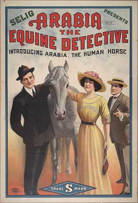Arabia: The Equine Detective - 11 x 17 Movie Poster - Style A