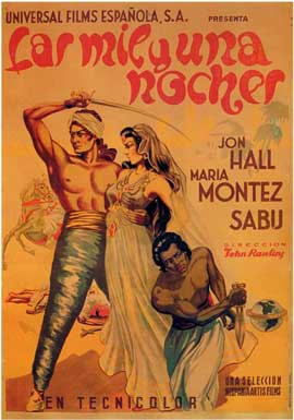 Arabian Nights - 27 x 40 Movie Poster - Spanish Style A