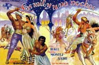 Arabian Nights - 11 x 17 Movie Poster - Spanish Style C