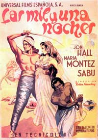 Arabian Nights - 11 x 17 Movie Poster - Spanish Style D