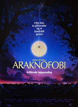 Arachnophobia - 27 x 40 Movie Poster - Danish Style A