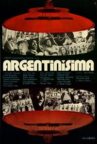 Argentinisima - 11 x 17 Movie Poster - Spanish Style A