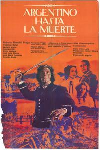 Argentino hasta la muerte - 27 x 40 Movie Poster - Spanish Style A