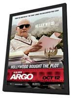 Argo - 11 x 17 Movie Poster - Style B - in Deluxe Wood Frame