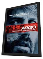 Argo - 27 x 40 Movie Poster - Style A - in Deluxe Wood Frame