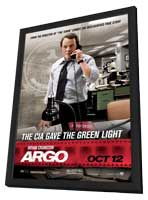 Argo - 11 x 17 Movie Poster - Style D - in Deluxe Wood Frame