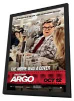 Argo - 11 x 17 Movie Poster - Style E - in Deluxe Wood Frame