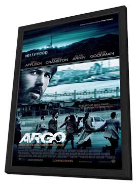 Argo - 11 x 17 Movie Poster - Style A - in Deluxe Wood Frame