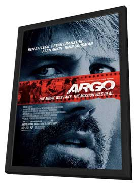 Argo - 11 x 17 Movie Poster - Style C - in Deluxe Wood Frame