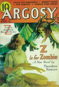 Argosy Weekly (Pulp) - 11 x 17 Pulp Poster - Style F