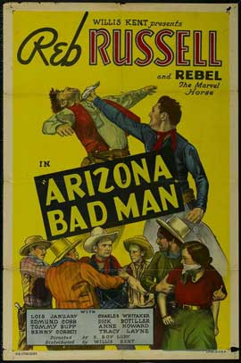 Arizona Bad Man - 11 x 17 Movie Poster - Style A