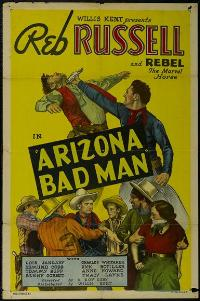 Arizona Bad Man - 43 x 62 Movie Poster - Bus Shelter Style A